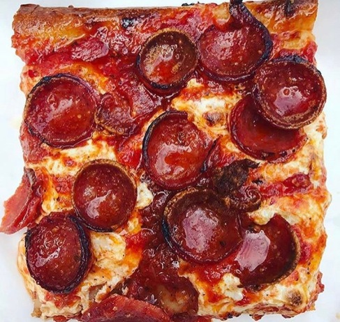 Pepperoni Pizza from Prince Street Pizza